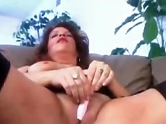 Big titted chubby webcam milana with a BBC in pussy and ass