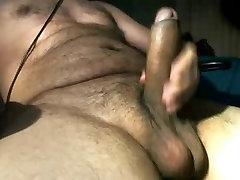 LATINO HAIRY BEAR WITH BIG DICK AND BALLS