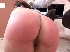 Casting Spank - Chubby Girl Punished - NERD BBW