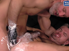 Two Hot Muscle Bears In Extreme Fisting Scene