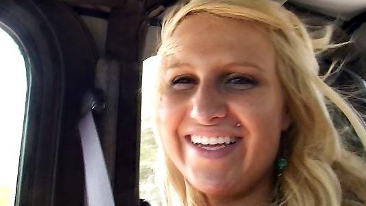 Neuken met een blonde met POV