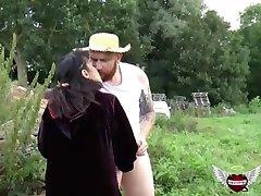 The arabic girl and the farmer