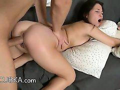 Huge cock in her tight slovak vagina