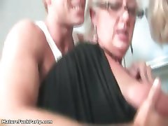 Nasty mature whores go crazy sucking part5