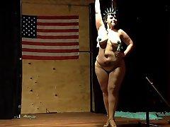 Plus Size Burlesque Black Mariah NY