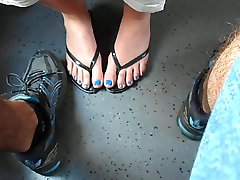 Blue Nails, Train Secret Footsi