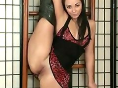 Beautiful flexible girl