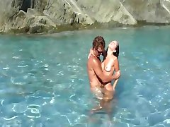 Great Sex Scene At The Beach