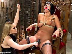Rose Rhapsody cant be let loose in the Armory due to her constant fornication with random cock...