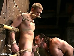 Zane Anders is bound from head to toe with bamboo awaiting his Dom, Jaxton Wheeler. As a...