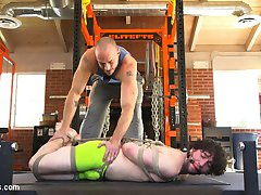 Jackson Fillmore waits on the dirty gym floor, gagged and immobilized as Jessie Colter finishes...