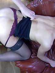 Petite lass takes a studly boner up the ass after a warming-up rimjob in 69