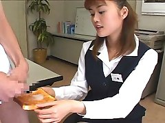 Teen eating cum on bread!