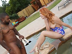 Black Meat White Feet - Interacial Foot Fetish Videos