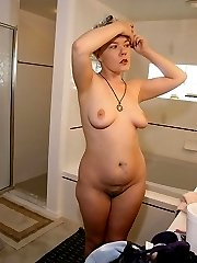 British chubbt takes off her thong