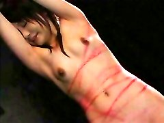 Whipping a Japanese OL - Lovely Red Marks