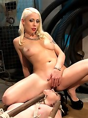 Welcome local model Coral Aorta to Whipped Ass. Coral enjoys pain and likes to be challenged by...