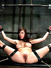 Princess Donna comes back to Sex and Submission for more domination and hard fucking in bondage!...