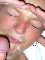 Real amateur facials