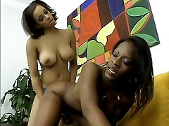 Hot babe Jazmyne Sky dives down a wet black pussy before she has her slit licked