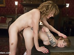 Delia Delions is angrily awaiting Jeze Belle. When Jeze finally enters the red room of pain,...