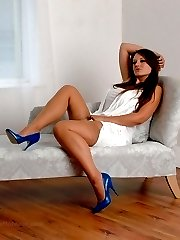 Come to Becky in the desire of your fetish, give your worship and adoration to her high heel shoes and shapely stocking clad legs. She will reward you richly as your desires are hardened and your fetish is stiffened