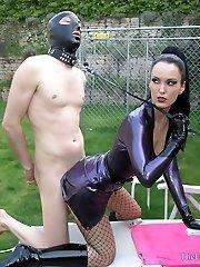 Caged Sex Pet