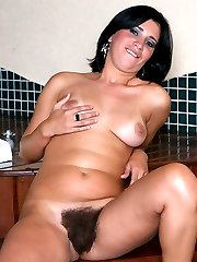 Hot chick Bianca gives a cock a sinful mouthfuck and rides it with her natural hairy pussy in this story