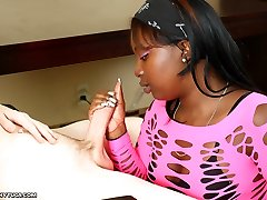 Chinas Very First Time - Interracial Palm Jobs Ebonytugs.com