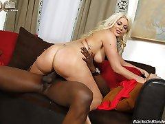 Blacks On Blondes - Layla Price Hardcore Interracial