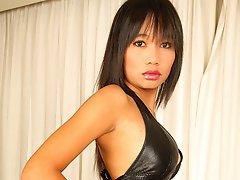 Thai Sherri dropping latex outfit