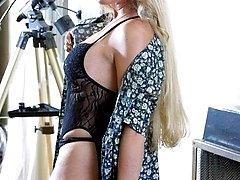 Blonde MILF looking innocent