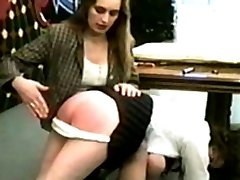 Her teacher has had enough and notifies the school Mistress, who is much tougher.