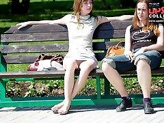 Beautiful girls in spy upskirt pics