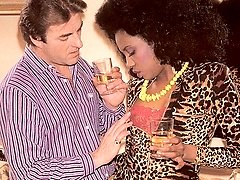 Black seventies lady banged