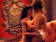 Naked mistresses make man feel the hardest anguish