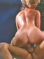 Ginger Lynn taking a big cock hardcore