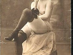Hot antique chicks relaxing