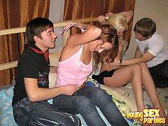 Sex crazed teen party