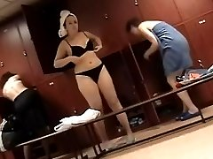 This spy cam was placed in the female checkroom the day before woman's swimming tournament and with the help of it we made amazing video clips representing svelte swimmers with juicy butts and elastic busts