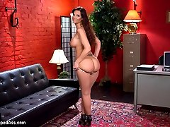 Welcome back super MILF, Syren De Mer, and evil MILF domme, Holly Heart, to Whipped Ass. In this kinky lesbian role play Syren plays a secretary looking for a new job in Holly Heart's office where she has been the secretary for Mr. Dickinson for over 6 years! It's obvious Holly runs this office and she will stop at nothing to keep it that way! Hot MILF on MILF lesbian domination and rough sex with fisting, spanking, pantyhose and deep strap-on anal sex!