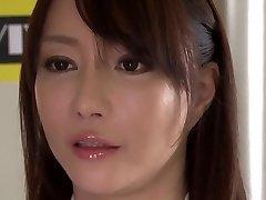 Crazy Japansk modell Kotone Kuroki i Utrolig store pupper, rimming JAV film