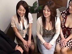 Jaapani AV Mudelid kuum küps tibud CFNM rühma tegevus