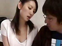 Japonés el profesor y el estudiante escena de sexo