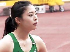 Beautiful Asian Track Star