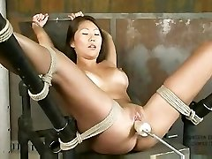 Beti Hana Tied And Machine Banged