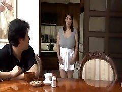 Large boobs mom-in-law Struggles