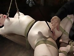 Sybil Hawthorne in Sybil Hawthorne: Retro Sweetie Luvs Anguish To Get Off - HogTied