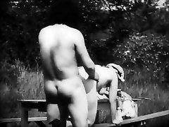 Vintage Erotic Vid 8 - Mousquetaire au Restaurant 1910