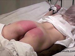 Smallish Victorian girl getting a hard punishment